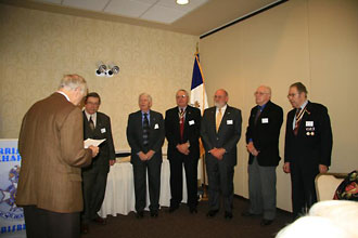 2010 Chapter Officers installed by PASSAR President Miller.